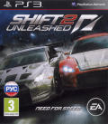 Shift 2: Unleashed PlayStation 3 Front Cover