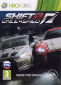 Shift 2: Unleashed Xbox 360 Front Cover