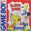 Bubble Bobble: Part 2 Game Boy Front Cover