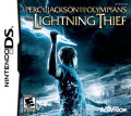 Percy Jackson and The Olympians: The Lightning Thief Nintendo DS Front Cover
