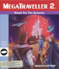 MegaTraveller 2: Quest for the Ancients Amiga Front Cover
