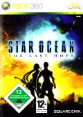Star Ocean: The Last Hope Xbox 360 Front Cover