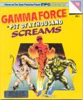 Gamma Force in Pit of a Thousand Screams PC Booter Front Cover