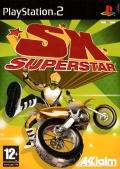 SX Superstar PlayStation 2 Front Cover