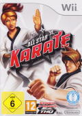 All Star Karate Wii Front Cover