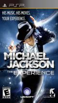 Michael Jackson: The Experience PSP Front Cover US Cover - Published by: Ubisoft Inc.