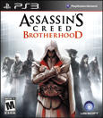 Assassin's Creed: Brotherhood PlayStation 3 Front Cover 1st version