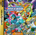 Mega Man X3 SEGA Saturn Front Cover