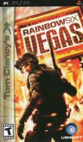 Tom Clancy's Rainbow Six: Vegas PSP Front Cover