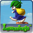 Lemmings PlayStation 3 Front Cover