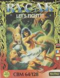 Rygar Commodore 64 Front Cover