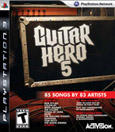 Guitar Hero 5 PlayStation 3 Front Cover