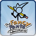 The Fancy Pants Adventures PlayStation 3 Front Cover