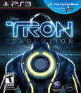 TRON: Evolution PlayStation 3 Front Cover