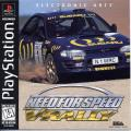 Need for Speed: V-Rally PlayStation Front Cover