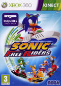 Sonic Free Riders Xbox 360 Front Cover