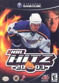NHL Hitz 20-03 GameCube Front Cover