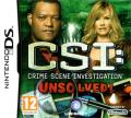 CSI: Crime Scene Investigation - Unsolved! Nintendo DS Front Cover
