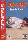 Tom and Jerry: Frantic Antics! Genesis Front Cover