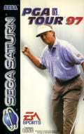PGA Tour 97 SEGA Saturn Front Cover