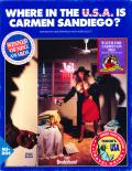 Where in the U.S.A. Is Carmen Sandiego? (Enhanced) DOS Front Cover