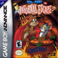 Tom and Jerry in Infurnal Escape Game Boy Advance Front Cover