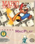 Mario Teaches Typing Macintosh Front Cover