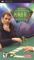 World Championship Poker 2 featuring Howard Lederer PSP Front Cover