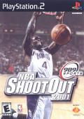 NBA Shootout 2001 PlayStation 2 Front Cover