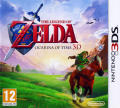 The Legend of Zelda: Ocarina of Time 3D Nintendo 3DS Front Cover