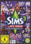 The Sims 3: Late Night Macintosh Front Cover