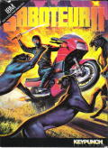 Saboteur II DOS Front Cover