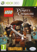 LEGO Pirates of the Caribbean: The Video Game Xbox 360 Front Cover