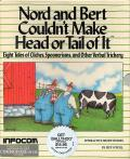 Nord and Bert Couldn't Make Head or Tail of It Commodore 64 Front Cover
