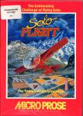 Solo Flight Commodore 64 Front Cover