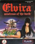 Elvira Commodore 64 Front Cover