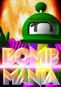 Bomb Mania Commodore 64 Front Cover