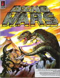 Dino Wars DOS Front Cover