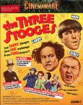 The Three Stooges Commodore 64 Front Cover
