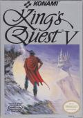 King's Quest V: Absence Makes the Heart Go Yonder NES Front Cover