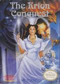 The Krion Conquest NES Front Cover