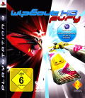 WipEout HD: Fury PlayStation 3 Front Cover