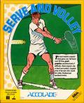 Serve & Volley Commodore 64 Front Cover