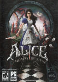 Alice: Madness Returns Windows Front Cover