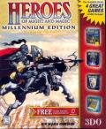 Heroes of Might and Magic: Millennium Edition DOS Front Cover