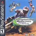 Championship Motocross 2001 Featuring Ricky Carmichael PlayStation Front Cover