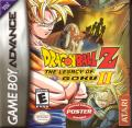 Dragon Ball Z: The Legacy of Goku II Game Boy Advance Front Cover