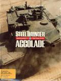 Steel Thunder Commodore 64 Front Cover