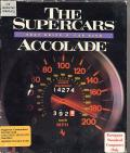 The Supercars: Test Drive II Car Disk Commodore 64 Front Cover