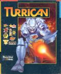 Turrican Commodore 64 Front Cover